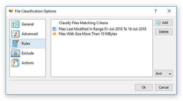 File Classification Rules