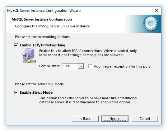 DiskSorter - File Classification - Installing MySQL Database